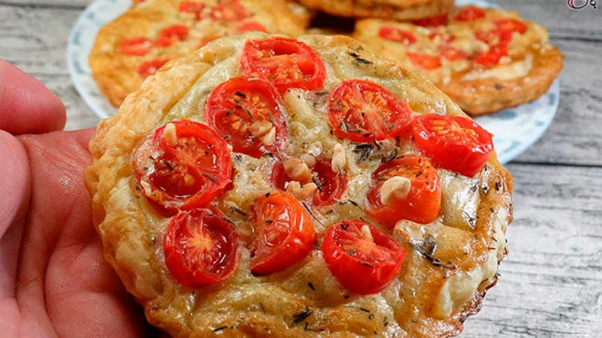 Tartaleta tomatitos cherry