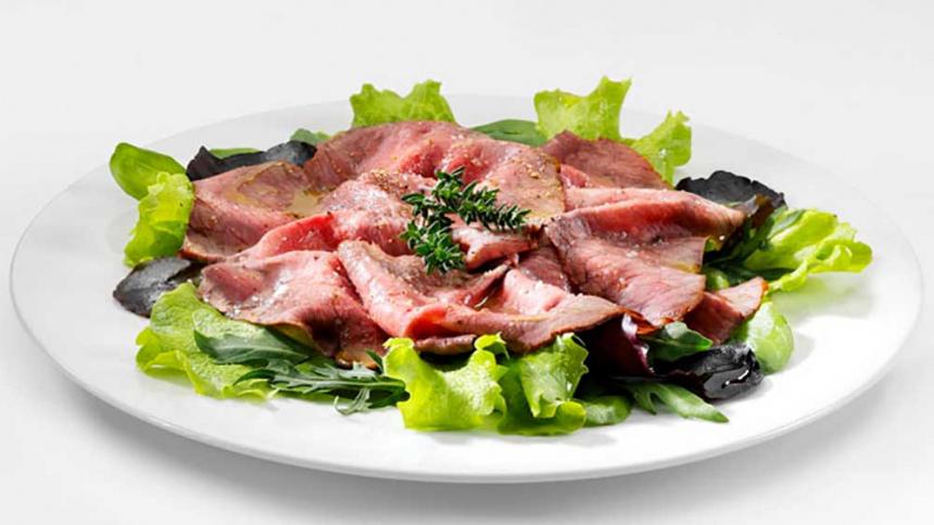 Roast beef a las Hierbas
