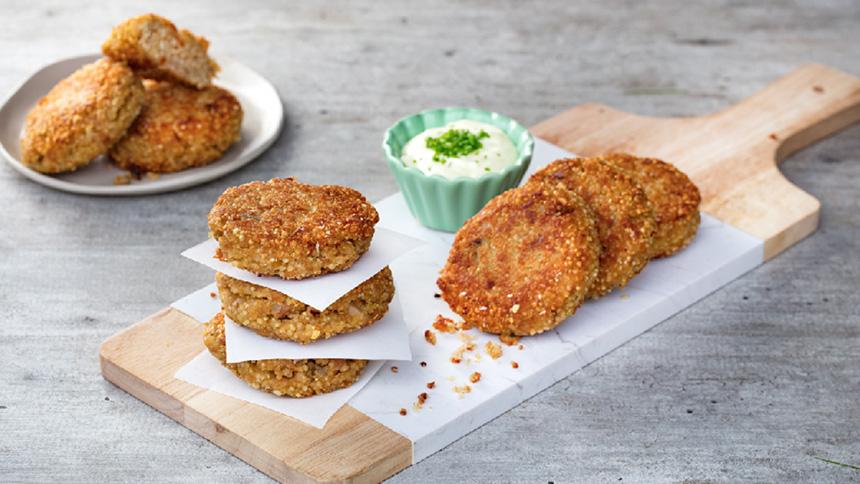 Croquetas de quinoa y atún