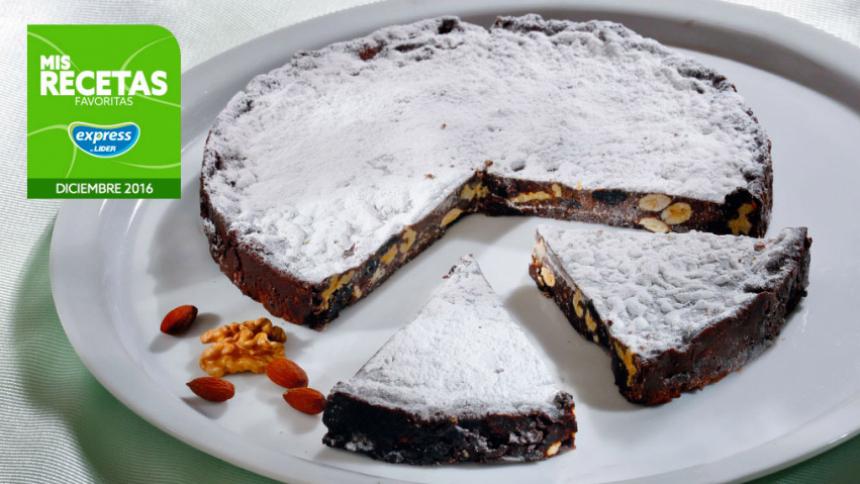 Panforte italiano (pan de Navidad italiano de chocolate)