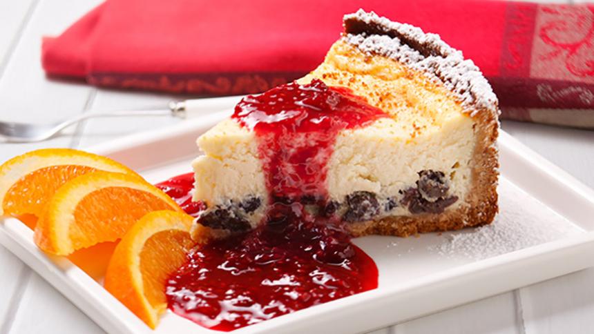 Cheesecake de ricotta