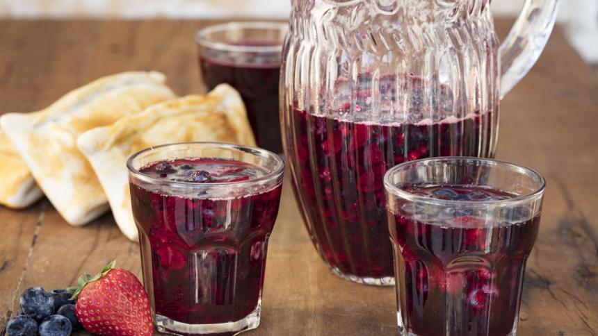 Borgoña de berries