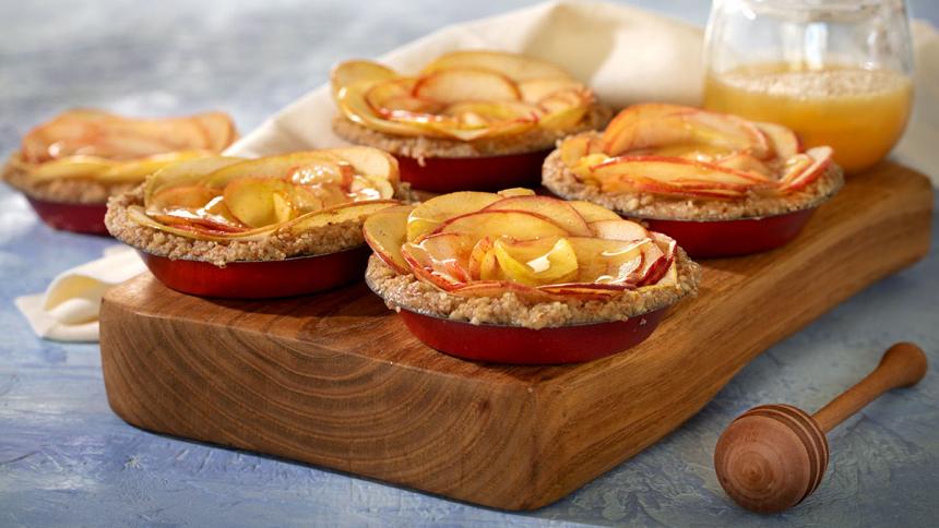 Tarta manzanas sin horno