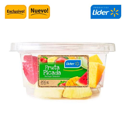 Piña frutilla mango picada 200 grs