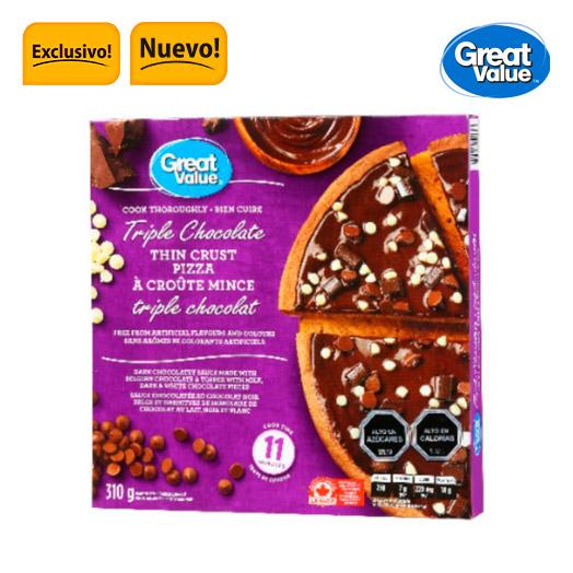 Pizza masa delgada chocolate 310 gr