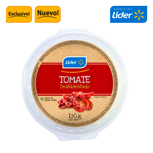 Tomate deshidratado 150 gr