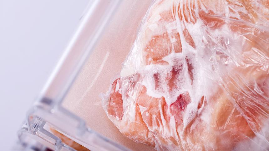 ¿Cómo descongelar carne?